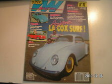 **c Super VW Magazine n°11 La cox surf / Buggy class 2 / Coupé Karmann