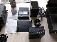 Audio Visual Imatronic AV projectors dissolve unit lens & cassette recorder