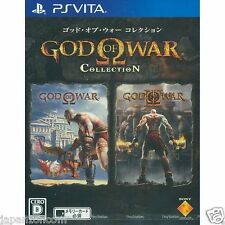 God of War Collection PS Vita SONY JAPANESE NEW JAPANZON