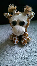 WHITEHOUSE LEISURE PAWS BIG EYES GIRAFFE SOFT TOY BEANIE COMFORTER PLUSH 8""