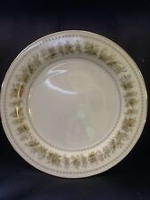 "Vintage Nitto China "" Garden Lace""  Green Floral Pattern"