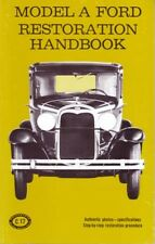 1928-1931 Ford Model A Restoration Maintenance Book Shop Service Repair Book
