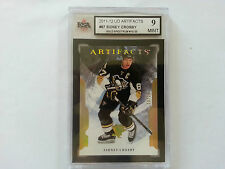Sidney Crosby GOLD Artifacts 10/25 Card KSA Graded 9!!!!!