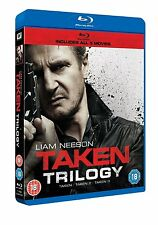 Taken/Taken 2/Taken 3 [Blu-ray] Trilogy Box Set Liam Neeson BRAND NEW REGION B/2