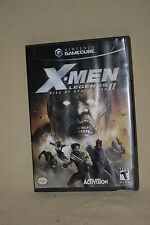 X-MEN LEGENDS II RISE OF APOCALYPSE  FOR GAME CUBE Wii COMPLETE 40757*