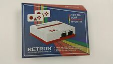 Retron 1 NES System Nintendo Game Console 8-Bit Top Loader - Red/White