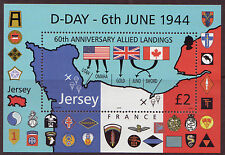 JERSEY 2004 D DAY LANDINGS UNMOUNTED MINT, MNH