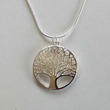 bijoux celtes collier pendentif celtique Arbre de vie irlandais en argent 925