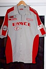 MEN'S ENYCE SHORT SLEEVE RACING CHAMPION RALLY PIT CREW SHIRT XXL