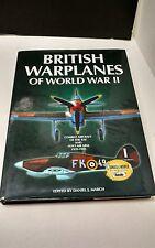 British Warplanes of World War II 1939-1945 Hardcover 2000 Vintage Book