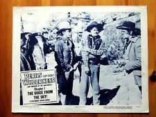 PERILS OF THE WILDERNESS Orig WESTERN Lobby Card DENNIS MOORE KENNETH MACDONALD