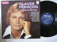 CLAUDE FRANCOIS 33 TOURS HOLLANDE SUCCESS SERIES (2)