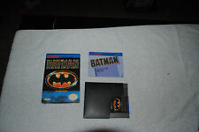 BATMAN NES NINTENDO GAME COMPLETE IN BOX VERY GOOD CONDITION