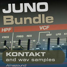 ROLAND JUNO-106, JUNO-60, JUNO-6, JUNO ALPHA  KONTAKT .nki PATCHES & WAV SAMPLES