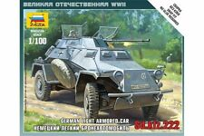 ZVEZDA 6157 1/100 German light armored car Sd.kfz.222