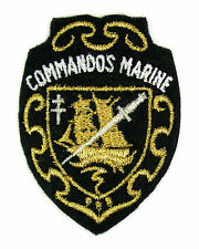ECUSSON MILITAIRE MILITARIA BRODÉ EMBROIDERED PATCH MERESSE COMMANDOS DE MARINE