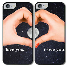 "Cover di coppia per iPhone 6 plus / 6S plus ""Twilight Love"", per lui e lei!"