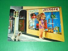 Cartolina Collezionismo - Bambole FURGA Italia Alta Moda 1975 ca  ( rif. 19914 )