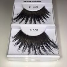 3-Pair #301 BOLD! Drag Queen, Showgirl, Cross Dresser, Human Hair Eyelashes,