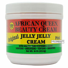 African Queen Beauty Cream Original Jelly Jelly Cream Pink 16 Oz / 452.8 g