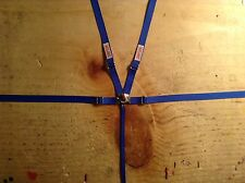 1/10 scale racing seat belt,Crawler,Drift,RC,Blue seatbelt, Harness,Wraith