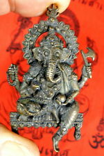 GANESH GANESHA TEMPLE PLAQUE. Sourced - blessed at TRINETRA GANESH TEMPLE INDIA