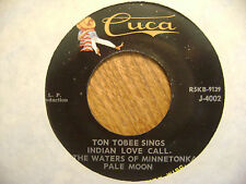 CUCA 45 EP RECORD/ TON TOBEE/ SINGS TREES ,THE LORD'S PRAYER ETC/ EX CONDITION