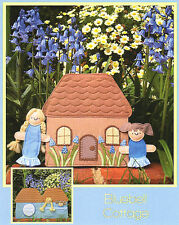 BLUEBELL COTTAGE PLAYSET - Sewing Craft PATTERN - Soft Toy Felt Rag Doll