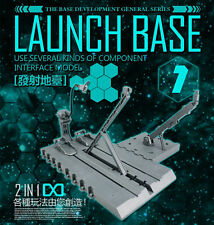 Dragon Momoko commom Launch Base for Bandai MG 1/100 HG 1/144 Gundam