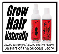 STOP HAIR LOSS SHEDDING THINNING - GROWTH TREATMENT REGROWTH SHAMPOO bald spot