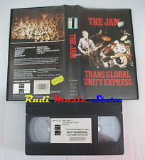 VHS THE JAM Trans global unity express 1982 CMV 1124 cd mc dvd lp (VM3)