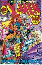 Uncanny X-Men # 281 (Whilce Portaccio) (new team,2nd printing) (USA, 1991)