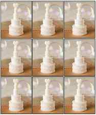 24 x White Wedding Cake Bubbles Favours Reception Table Decorations X50 005