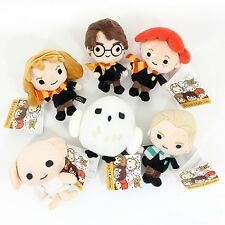 "6PCS Set Harry Potter Plush Toy 5"" Collection Doll Gift Harry Hermione Ron"