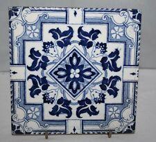 "Wedgwood - Antique Decorative 6"" Tile - Panel - c1885"