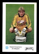 Hubert Koopmann Autogrammkarte SV Meppen Original Signiert + G 13405