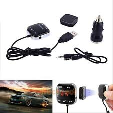 Wired Car Bluetooth FM Transmitter Kit USB LCD SD MP3 Player Handsfree for Phone