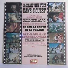 """33T IL ETAIT UNE FOIS L'OUEST LP 12"""" MORRICONE - The HOUSTON SYMPHONIC ORCHESTRA"""