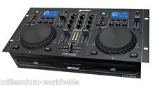 GEMINI CDM-4000 DJ CONSOLE - CDJ, TWIN CD, MEDIA PLAYER, USB / Authorized Dealer
