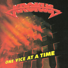 One Vice at a Time by Krokus (CD, May-1992, Bmg/Arista)