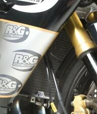 R&G BLACK RADIATOR GUARD for KAWASAKI ZX10-R, 2004 to 2005