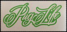 Autocollant Pug Vie Vert Autocollant Peugeot GTI 205 306 206 207 208 107 RCZ 407 106 CC