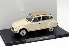 Citroen Dyane 6 Baujahr 1978 beige 1:24 Leo Models