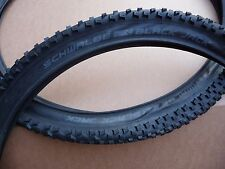 "Pair Schwalbe BLACK JACK     26x2.00""     MTB Mountain bike Tyres Offroad 26"""