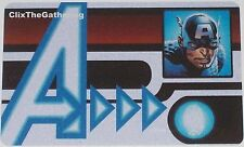 AUID-103 CAPTAIN AMERICA ID CARD Age of Ultron Marvel Heroclix