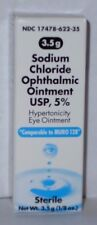 Sodium Chloride Ophthalmic Eye Ointment 5% 3.5gm (Generic Muro 128)