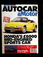 AUTOCAR MAGAZINE 22-MAY-91 - Porsche 944 Turbo, Rover 218SD, Alfa 33, Fiat Tipo