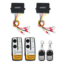 2x Wireless Winch Remote Control Kit DC12V 50ft for Car Truck Jeep SUV ATV Auto