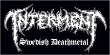 Interment-PVC Sticker-Swedish deathmetal