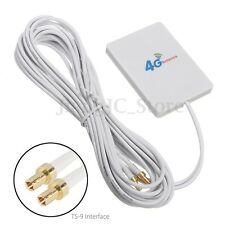 LTE 2 x TS-9 Interface Antenna Booster Amplifier 28dBi For 4G 3G Mobile Router